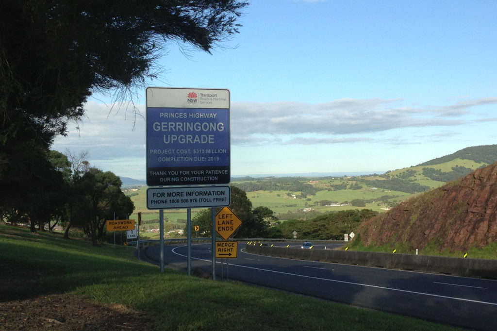 GERRINGONG UPGRADE