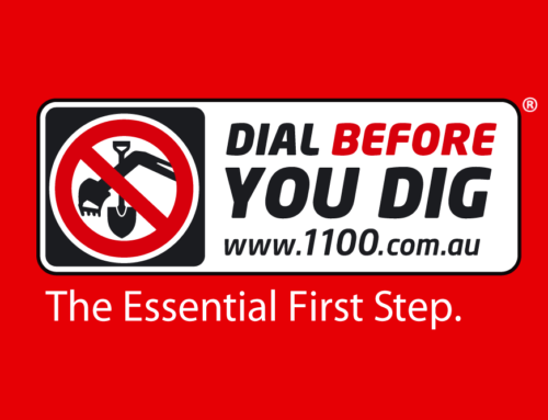 Reminder – Dial Before You Dig, it's the law